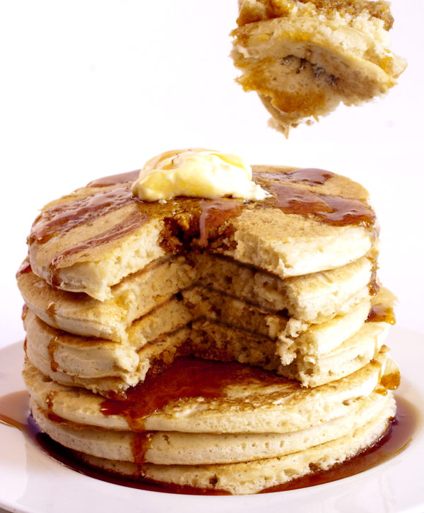 Light And Fluffy Pancakes Recipe — Dishmaps