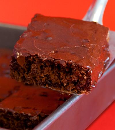 My Vegan Cookbook -Low Fat Cherry Chocolate Cake