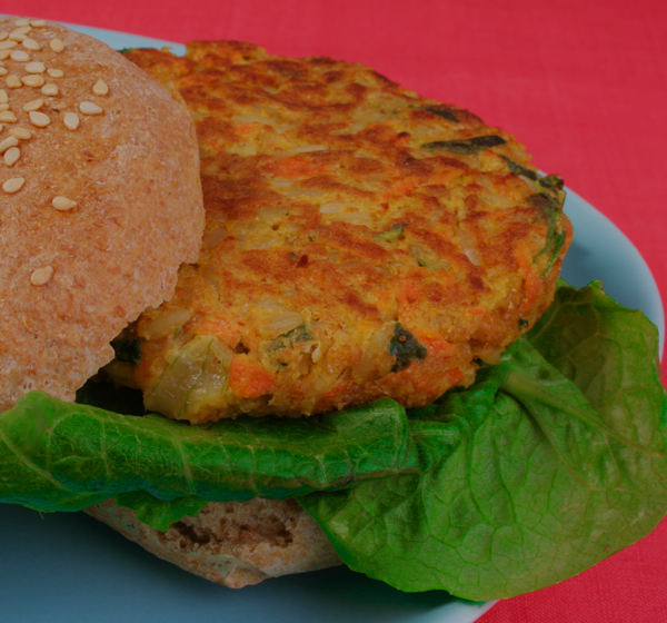 My Vegan Cookbook -Grain & Garden Burger
