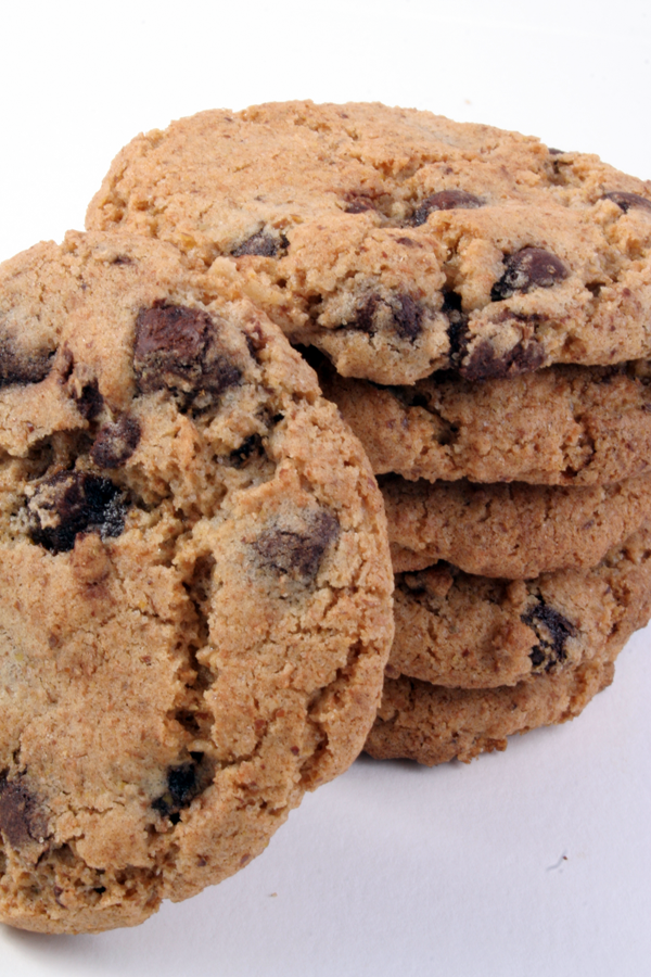With Low fat chocolate cookie will